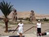 Egipt - statui