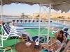 Egipt - Pe vasul de croaziera: siesta de pranz
