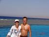 El Gouna - snorkeling: in spate sunt recifii de corali