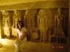 Cairo - morminte la piramide