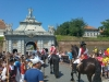 Alba Iulia, cetatea Carolina, schimbarea garzii