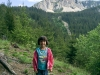 In Muntii Hășmaș: spre Piatra Singuratica