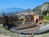 Italia - Taormina (Etna in spate)