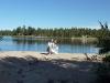 Suedia - Lac cu plaja