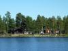 Suedia - Cabane la marginea lacului