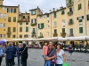 Italia, Lucca, Piata Amfiteatrului, Toscana